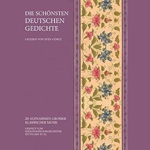 Die schönsten deutschen Gedichte Hörbuch