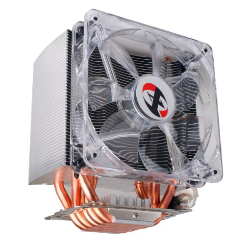 XION 5 Dual Heatpipe with HDT Technology, 120mm PWM LED Fan, CPU Cooler XON-HP1216BP - Retail