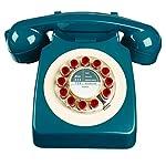 746 Phone Retro Design - Petrol Blue