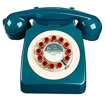 746 Phone Retro Design - Petrol Blue