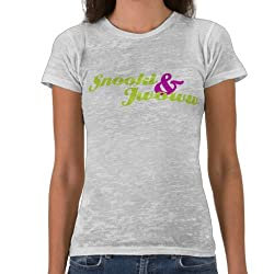Snooki & JWOWW: Logo Burnout Tee - Girls