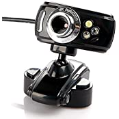 DATON 50.0 Mega Pixel Web Cam HD Camera WebCam 3 Led Light Dimmer USB 2.0 Web Cam With MIC Microphone For Computer...