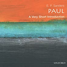 Paul: A Very Short Introduction Audiobook by E. P. Sanders Narrated by Robert Feifar