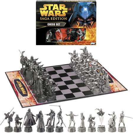 Star Wars Saga Edition Chess Set New Action Figures