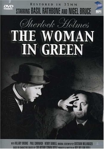 Sherlock Holmes And The Woman in Green Cover