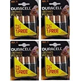 Duracell Alkaline Battery AA8 Pack Of 4 (16 Cell)