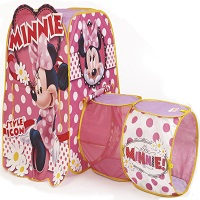 Amazon Com Playhut Minnie Discovery Hut Tent Toys Amp Games