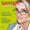 Spotlight Audio - Safari guide in South Africa. 9/2012: Englisch lernen Audio - Auf Safari in Südafrika