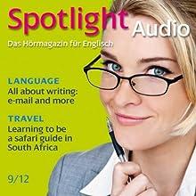 Spotlight Audio - Safari guide in South Africa. 9/2012: Englisch lernen Audio - Auf Safari in Südafrika Hörbuch von  div. Gesprochen von:  div.