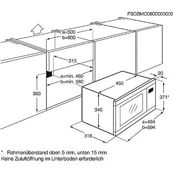 aeg mcd1753e m einbau mikrowelle 17 l 2200 w. Black Bedroom Furniture Sets. Home Design Ideas