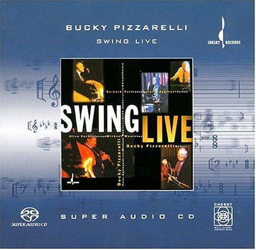 SACD : Bucky Pizzarelli - Swing Live (DL) (Hybrid SACD)
