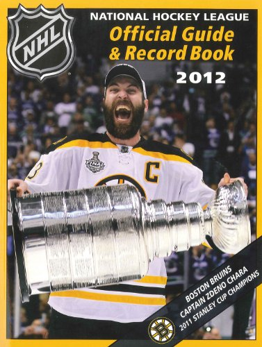 The National Hockey League Official Guide & Record Book 2012 Triumph Books Trium