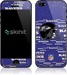 NFL | Baltimore Ravens - Blast Alternate | Skinit Skin for Apple iPhone 5 / 5s