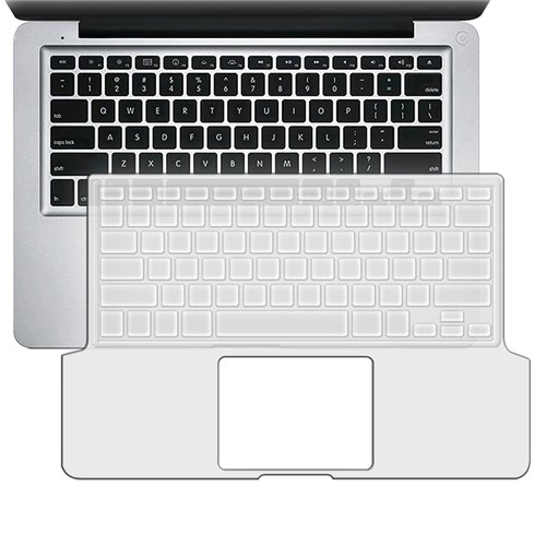 eForCity Keyboard Full Skin Shield Compatible with 13.3'' Apple® MacBook® Pro, Clear