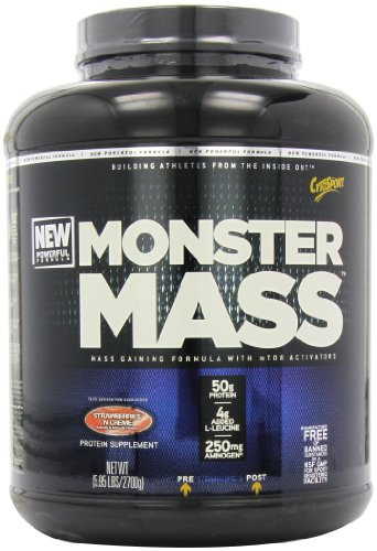 CytoSport Monster Mass 2700 g Strawberry Weight Gain Shake Powder