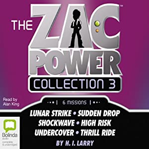 Zac Power Collection #3 Audiobook