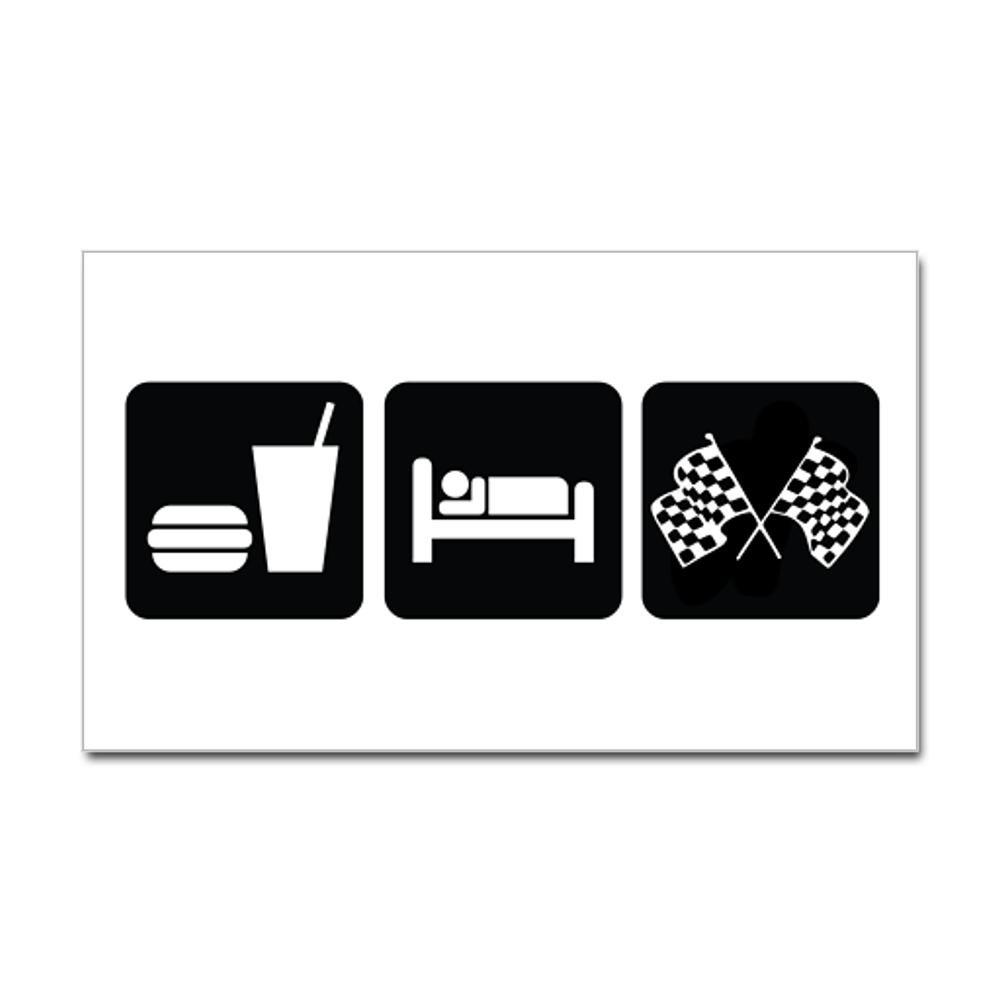 Eat Sleep Race Wallpaper CafePress