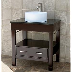 bathroom vanity 30 bathroom vanity cabinet black granitetop sink
