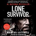 Lone Survivor: The Eyewitness Account of Operation Redwing and the Lost Heroes of SEAL Team 10 (       UNABRIDGED) by Marcus Luttrell, Patrick Robinson Narrated by Kevin Collins