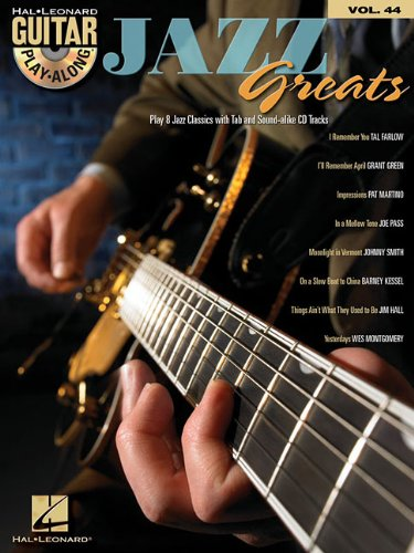 Jazz Greats: Guitar Play-Along Volume 44 (Hal Leonard Guitar Play-Along)