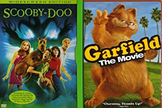 Garfield The Movie Scooby-Doo The Movie Family Movie 2 Pack Collection