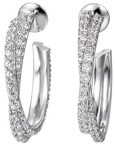 Joop! Damen-Ohrhänger 925 Sterling Silber mit Anhänger JPER90232C000