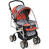 Stroller Cover For Rain Wind And Dirt - Keep Baby Dry And Clean When Going For A Walk - See Thru Guard - Fits...