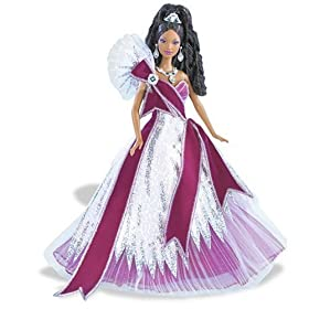 Mattel 2005 Holiday Barbie Doll - African American: $19.99