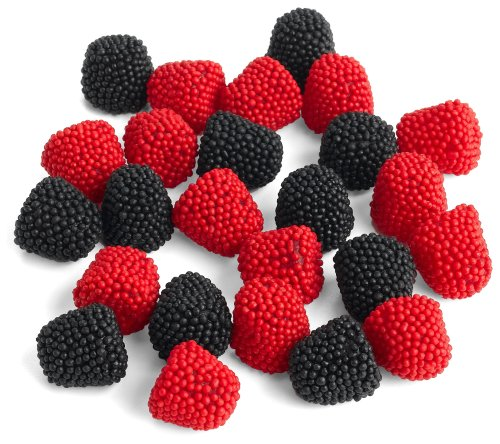 Jelly Belly Raspberries and Blackberries, 10-Pound Bag