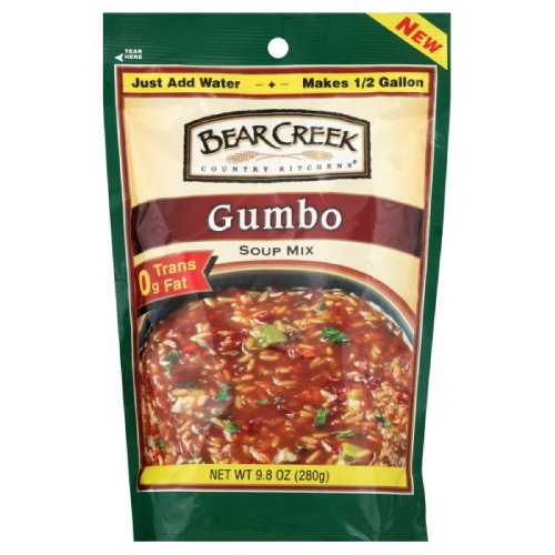 Bear Creek Country Kitchens Soup Mix, Gumbo, 9.8 Ounce (Pack of 3 ...