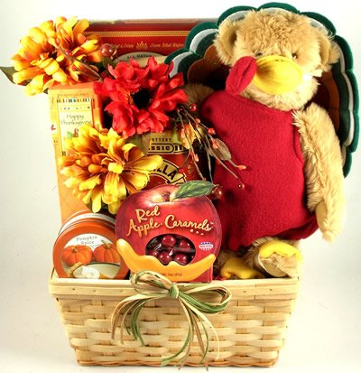 Gobble Gobble, Thanksgiving Gift Basket