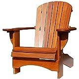 Adirondack Chair Comfort in Eiche
