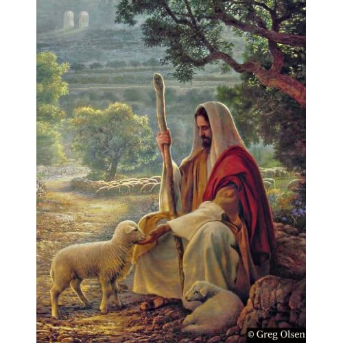 No More 5x7 Print - Greg Olsen Art - Jesus Christ : Everything Else