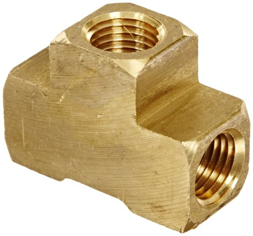 Anderson metals brass pipe fitting barstock tee