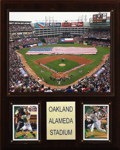 MLB Oakland-Alameda County Coliseum Stadium Plaque
