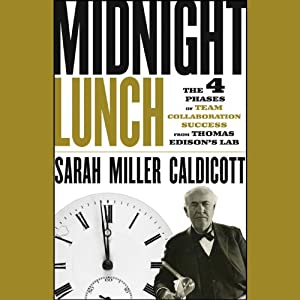 Midnight Lunch: The 4 Phases of Team Collaboration Success from Thomas Edison's Lab | [Sarah Miller Caldicott]