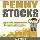 Penny Stocks: Beginner & Intermediate Penny Stock Investing Hörbuch von G. Smith Gesprochen von: Michael Hatak