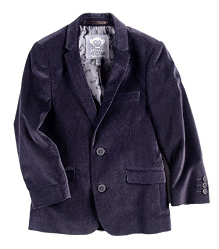 Appaman Little Boys' Blazer, Purple Velvet, 4T