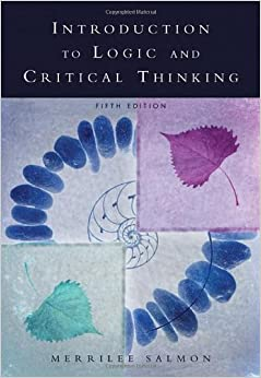 9780155430648 - Introduction to Logic and Critical Thinking by Merrilee H Salmon