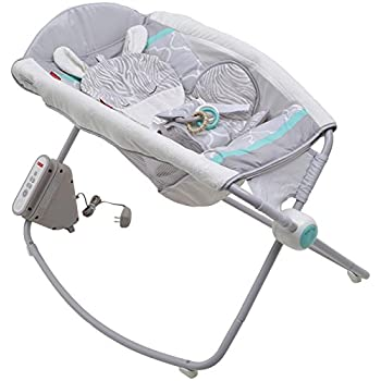 Fisher Price Safari Dreams Deluxe Auto Rock n Play Sleeper