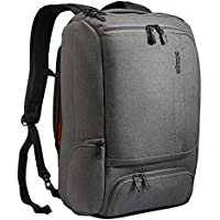 eBags Professional Slim Laptop Backpack (Heathered Graphite Polyester)