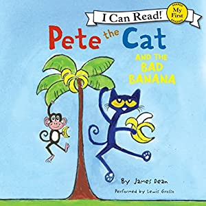 Pete the Cat and the Bad Banana Audiobook
