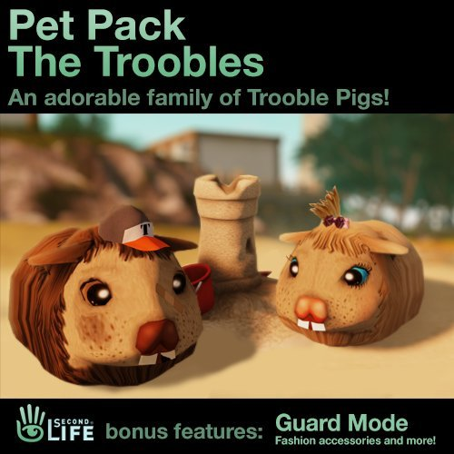 Pet Pack - The Troobles: Second Life [Game Connect]