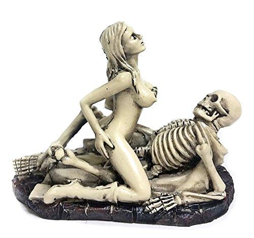 skulls and naked women