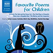 Favorite Poems for Children | [Lewis Carroll, James Reeves, Oliver Herford, Edward Lear, Kenneth Grahame, Hilaire Belloc, William Blake, Thomas Hardy]