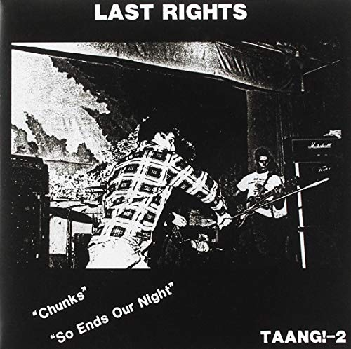 Vinilo : LAST RIGHTS - Chunks / So Ends Our Night