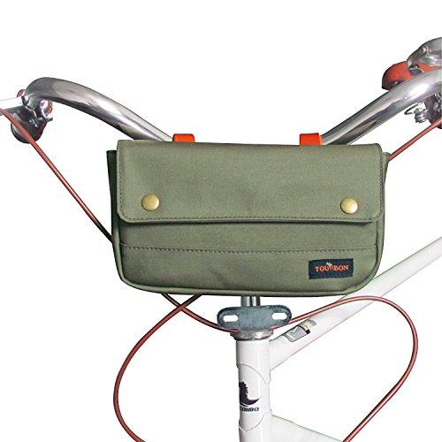 Tourbon Bicycle Handlebar Bag Front Bike Panniers 0