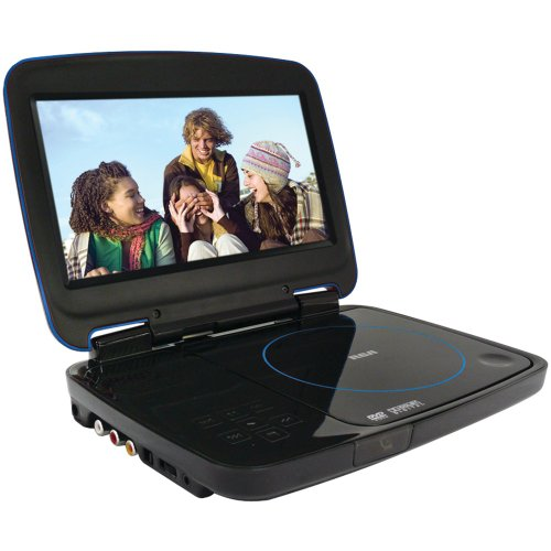 RCA DRC99380U 8-Inch Portable DVD Player with Secure Digital Card Slot
