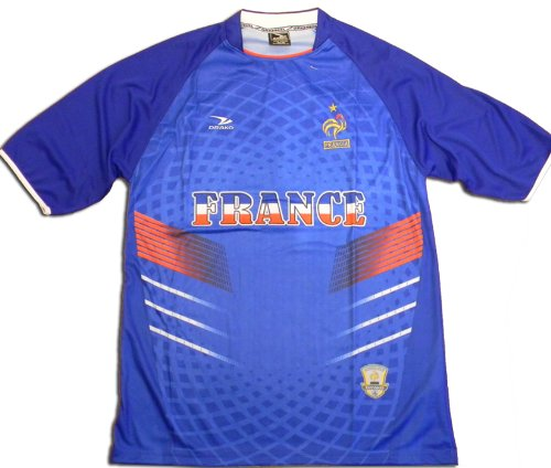 France International Soccer Jersey, French National Team Replica Jersey, OSFM_OneSize