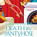 Death by Pantyhose: A Jaine Austen Mystery (       UNABRIDGED) by Laura Levine Narrated by Brittany Pressley